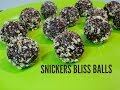 SNICKERS BLISS BALLS - Cooking with Karma