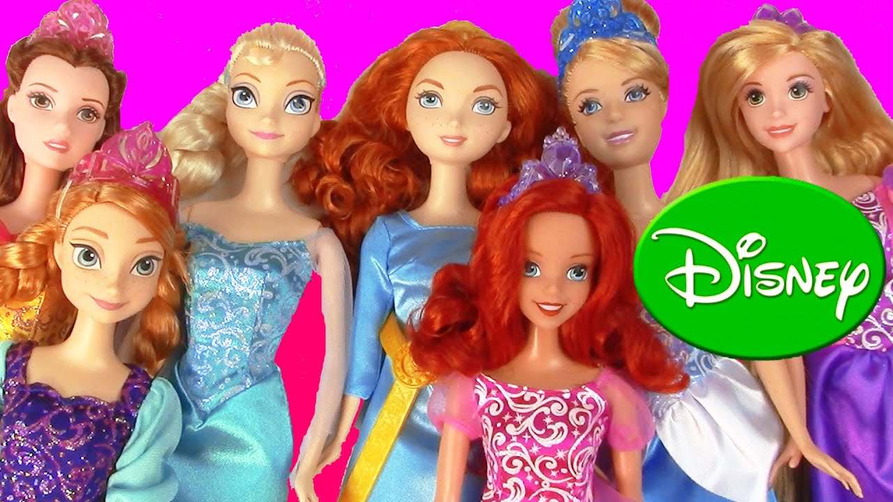 Collection Dolls Disney Disney Princess Collection