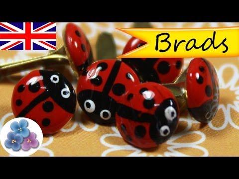 Diy ladybugs brads brad craft deco scrapbook ideas for Watch create and craft tv online