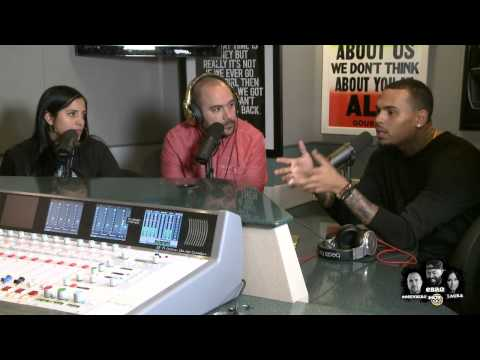 Chris Brown talks Rapping, Law Suits + Art work on Ebro in the Morning!