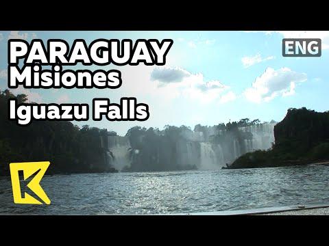 【K】Paraguay Travel-Misiones[파라과이 여행-미시오네스]이구아수 폭포, 보트 투어/Iguazu Falls/Boat Tour/Devil's Throat