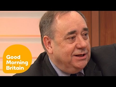 Alex Salmond On The Renewal Of Trident | Good Morning Britain