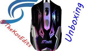Gaming Mouse JX-6 Led - Unboxing Español.