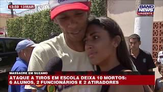 Suzano: Pai se sente aliviado ao encontrar filha com vida