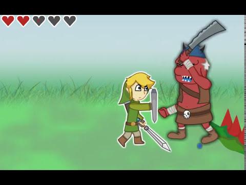 yo jugando zelda skyward sword 2D (LEER DESCRIPCION)