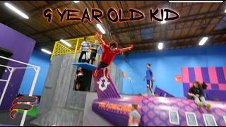 KIDS DO DANGEROUS OBSTACLE COURSE!