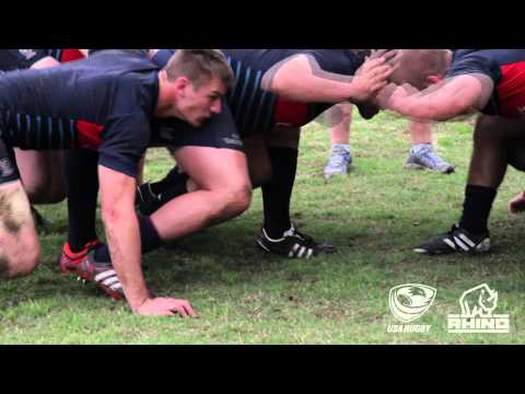 USA Men's Eagles: Scrumming with Rhino Rugby