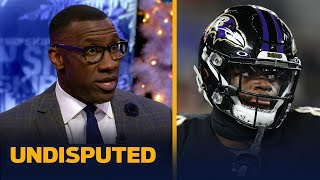 Shannon Sharpe disagrees with Ravens' decision to sit Lamar Jackson vs Steelers | NFL | UNDISPUTED