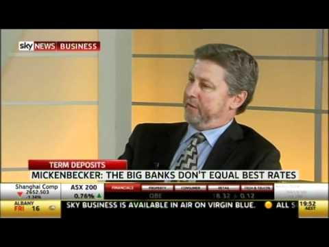 We talk term deposits on Sky News