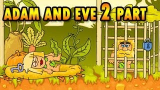 Adam and Eve 2 Walkthrough, Official BrainTY Games HD Video