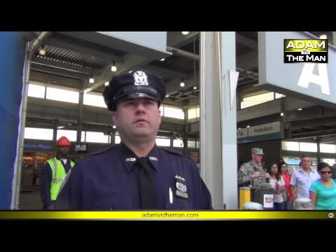 Ground Zero military outreach interrupted by NYPD