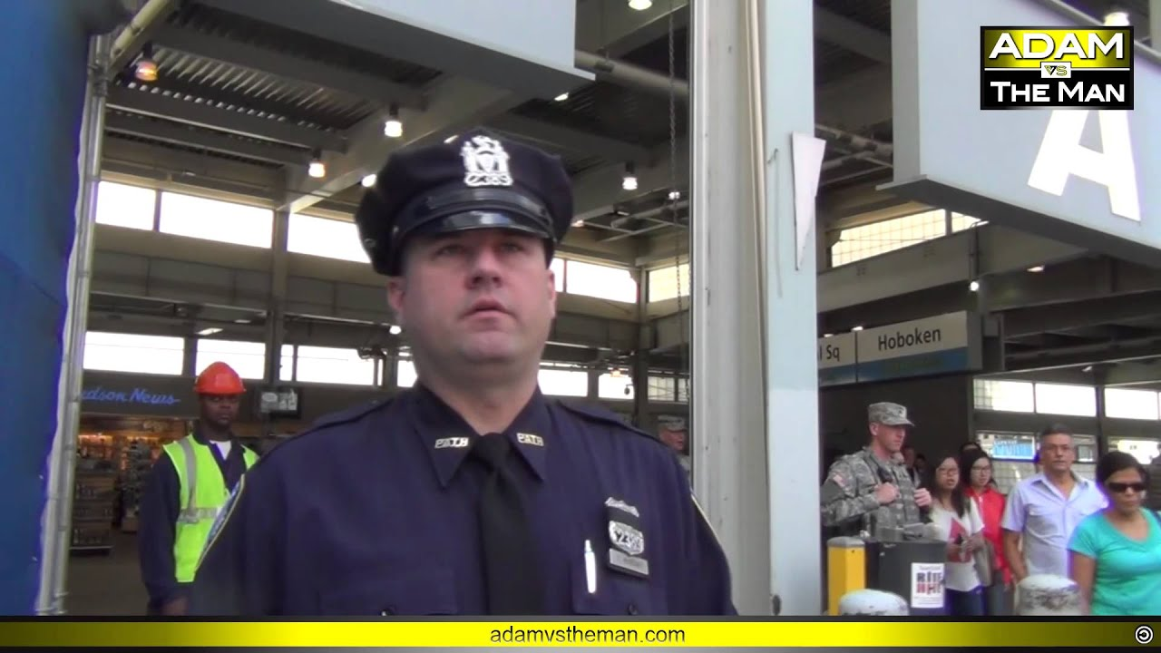 Ground Zero military outreach interrupted by NYPD - YouTube