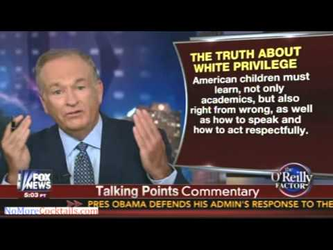 O'Reilly destroys Left's notion of White Privilege