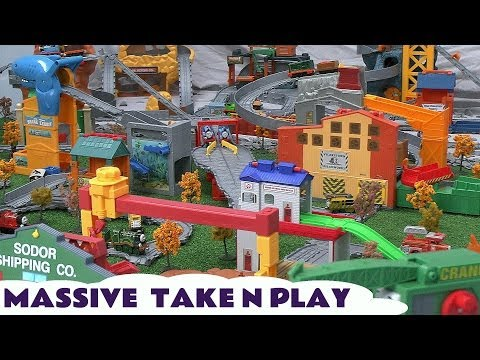 Massive Take N Play Shark Exhibit Thomas And Friends King Of The Railway Blue Mountain Kids Toy