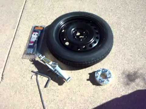 Spare Tire Kit For Chevy Camaro Ss And Charger Challeger