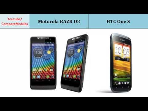 Motorola RAZR D3 over HTC One S main differences specs