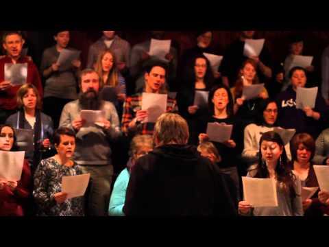 Popup Chorus Sings ride By Lana Del Rey video