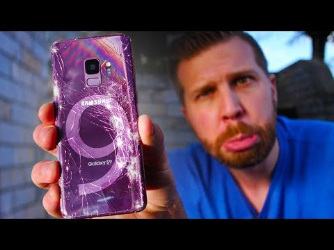 Galaxy S9 Drop Test - Ultimate Durability Test!