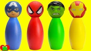 SUPERHERO Avengers and Spiderman Slime Surprises
