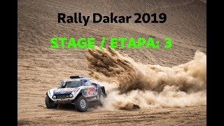 Rally Dakar 2019  ETAPA / STAGE 3! SAN JUAN DE MARCONA - AREQUIPA
