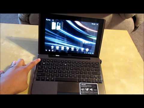 ASUS Transformer Keyboard part 2 لوحة مفاتيح أسوس ترانسفورمر