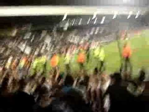 Toon Fans Away To Fulham - After the whistle!