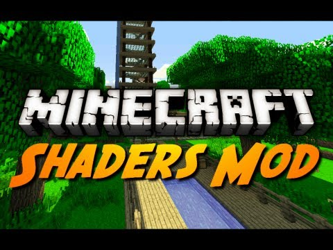 Minecraft Mod Review: SONIC ETHER'S UNBELIEVABLE SHADERS!
