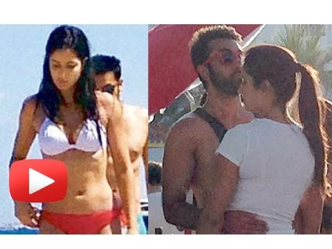 Katrina Kaif's Reaction On The Leaked Holiday Pictures - Ranbir Katrina Spain Holiday video