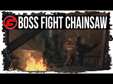 The Evil Within How to Defeat Chainsaw BOSS FIGHT Chapter 3 Claws of the Horde