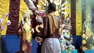 Durga puja Aroti by milon