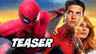 Spider-Man 4 Spider-Verse Teaser and Venom Crossover Breakdown