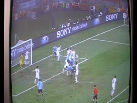 Uruguay VS South Korea (2-1) All Goals & Highlights - (WC2010 Last 16) 26/6/10