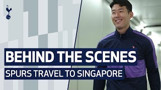 BEHIND THE SCENES | SPURS TRAVEL TO SINGAPORE