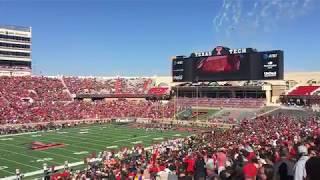 Texas Tech football tortilla throwing