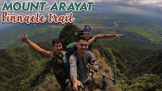 Hiking at Mt. Arayat Pinnacle trail vlog