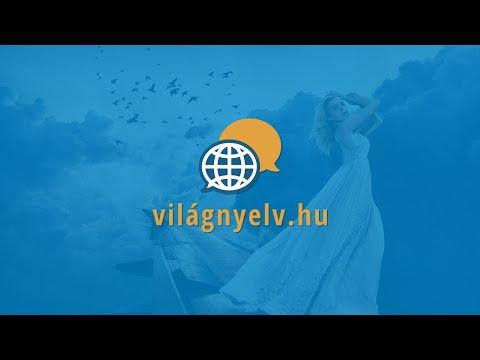 Angol videó tanfolyam | video-angol.hu | A lányom azt a gyönyörű ruhát fogja választani.