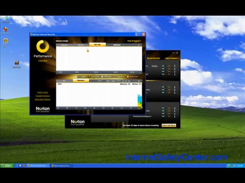 Norton Internet Security 2010 - Review Part I - Internet Safety Center
