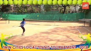 Twin Cities Local Tennis Tournaments 2018 | Hyderabad Sports News