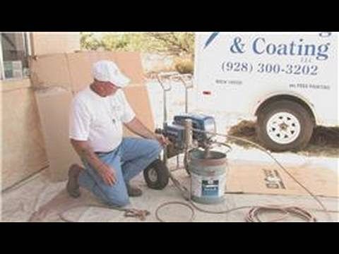 paint guns how to use an airless spray paint gun youtube. Black Bedroom Furniture Sets. Home Design Ideas