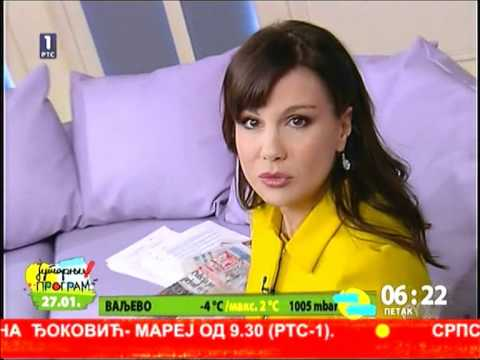 Maja Nikolic Japundza 27.01.2012 video