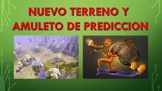 Nuevo Terreno y Amuleto de Predicción Dota 2 Plus