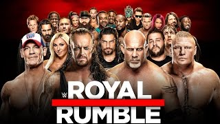 WWE ROYAL RUMBLE 2017 - ROMAN REIGNS vs KEVIN OWENS + ROYAL RUMBLE MATCH [WWE 2K17] ita