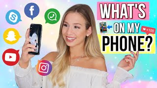 WHATS ON MY PHONE? 📲🤫Cali Kessy - Whats on my phone Tag Deutsch 2018