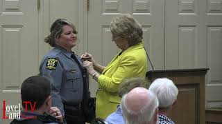 Officer Amy Campbell promoted to Lieutenant with the Loveland Police Department