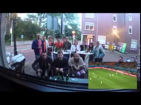 Nederland   Spanje reacties 13 Juni 2014 GoPro nederland spanje