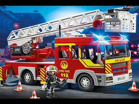 Playmobil pompier feuerwehr neu fire rescue youtube - Playmobil pompiers ...
