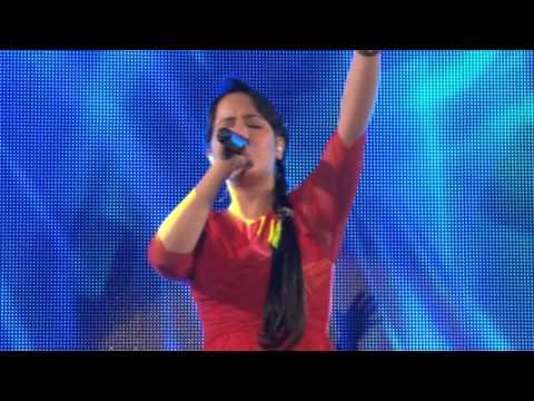 Tangela Na Mesa do Rei DVD ao vivo em Goiania-AUTORA DA LETRA.