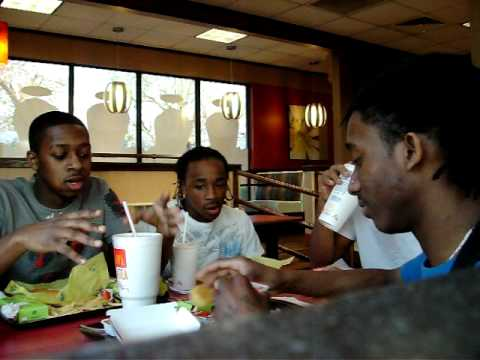 City Boyz - @City_Boyz and Rich Lee Wildin' Out at McDonalds