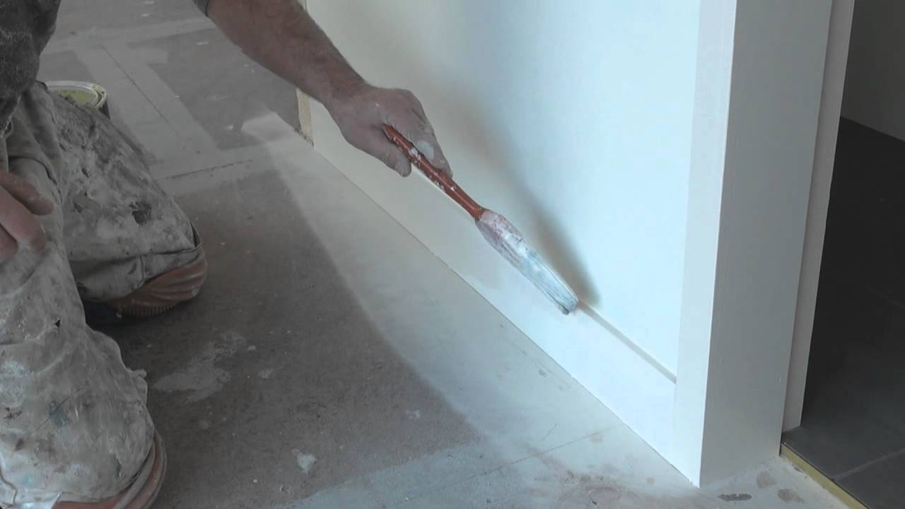 How To Paint Trim Painting Base Boards Or Skirting