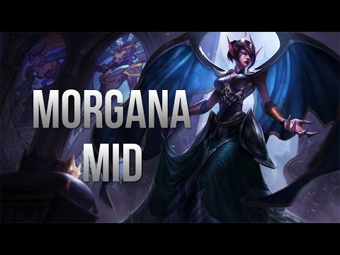 League of Legends Season 5 - Victorious Morgana Mid - Full Game Commentary